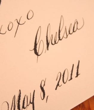 mother's day calligraphy thumbnail