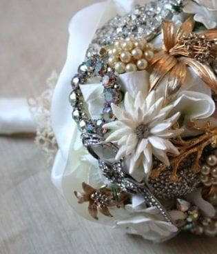 diy brooch bouquet:  part ii thumbnail