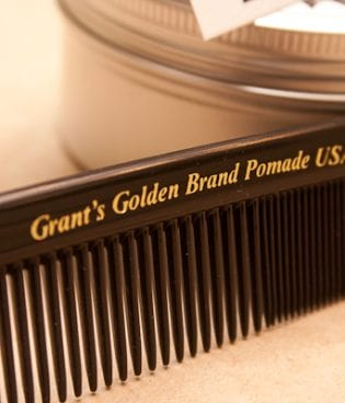 well-groomed & grant's golden brand pomade thumbnail