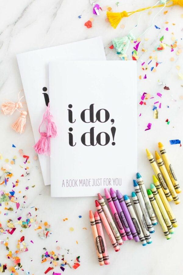 Printable Wedding Activity Book for Kids