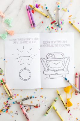 Printable Wedding Activity Book for Kids