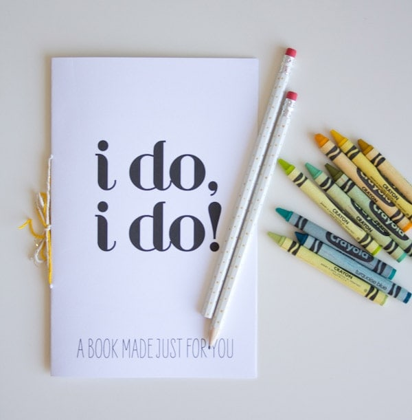 diy activity book & free printable | Lovely Indeed