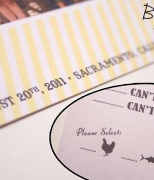 our diy wedding invitation suite thumbnail