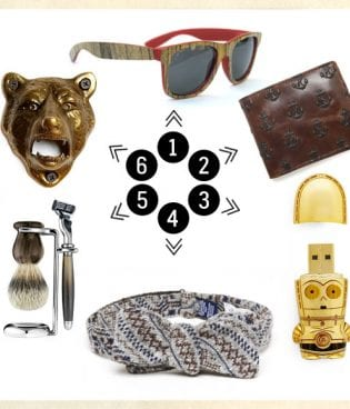 lovely indeed gift guides: dude gifts thumbnail