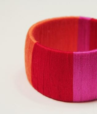 diy colorblock bangle thumbnail