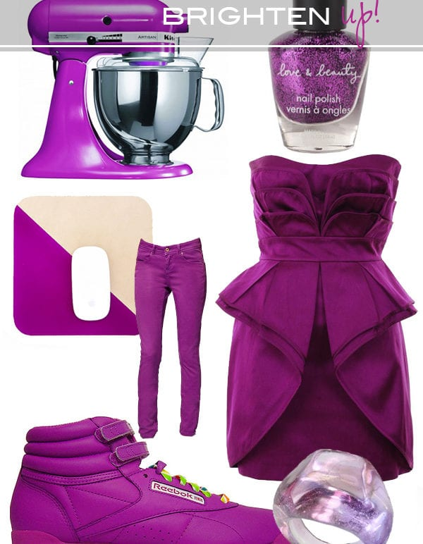 brighten up//electric purple thumbnail