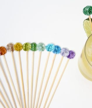 diy swizzle sticks & fun news! thumbnail