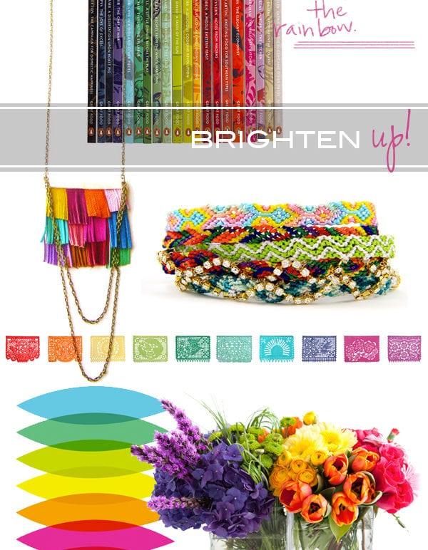 brighten up//rainbow thumbnail