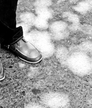 314/365 shoes and sidewalk thumbnail
