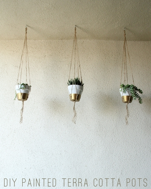 DIY Painted Terra Cotta Pots