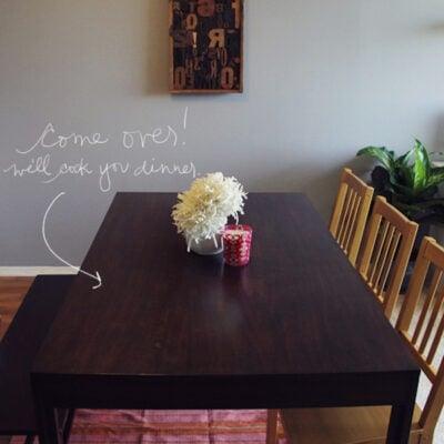 DIY Ikea Chairs