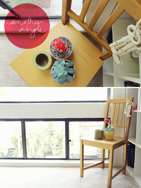 DIY Gold Dining Chairs