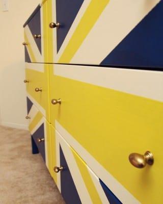 DIY Painted Ikea Dresser
