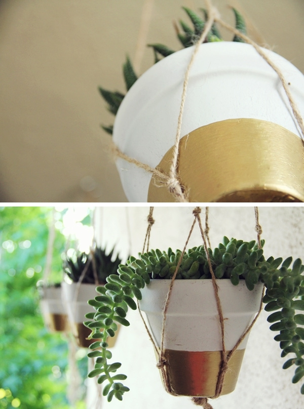 DIY Painted Terra Cotta Pots