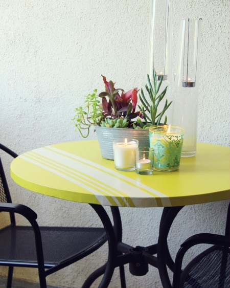 DIY Patio Table