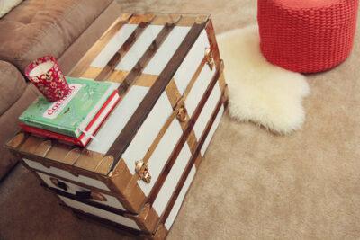 DIY Vintage Trunk Restyle