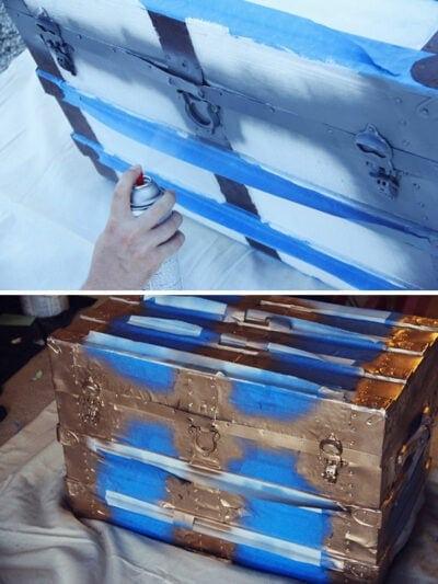 DIY Vintage Trunk