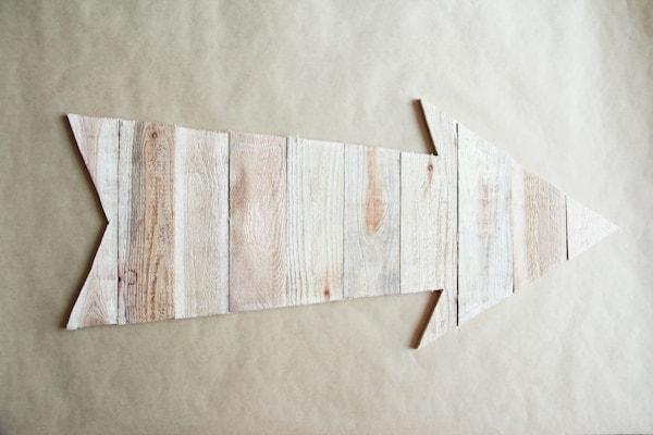 DIY Arrow Marquee Light