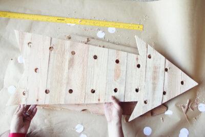 DIY Arrow Light