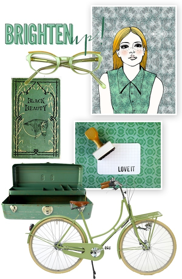 Brighten Up // Green Machine
