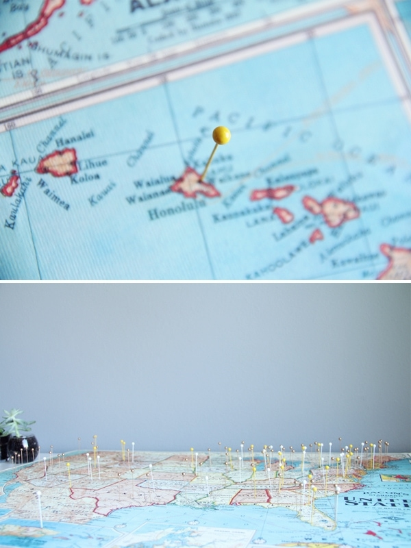 DIY Travel Map
