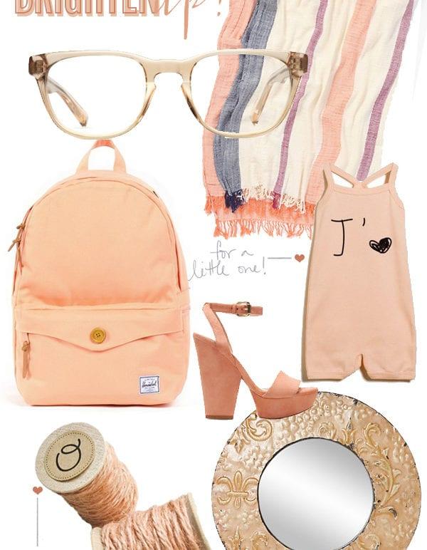 brighten up // peachy keen thumbnail