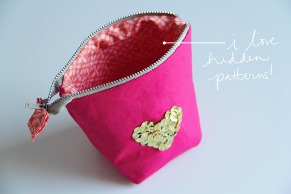 DIY Zipper Pouch