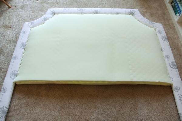 DIY Padded Headboard