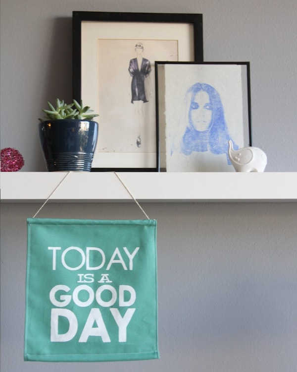 DIY Good Day Sign