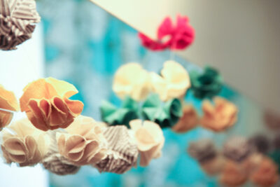 DIY Pompom Garland