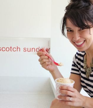 Out & About // sprinkles ice cream thumbnail