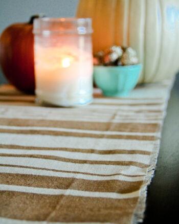 DIY Fall Table Runner