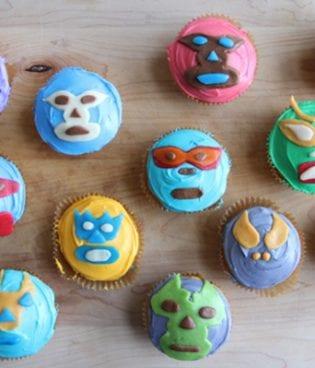 diy lucha libre cupcakes thumbnail