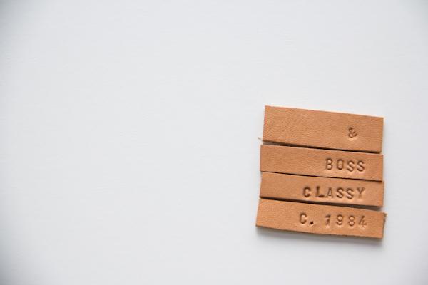 DIY Leather Tie Clip