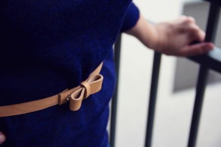 DIY Bow Belt