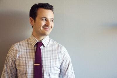 DIY Ampersand Tie Clip
