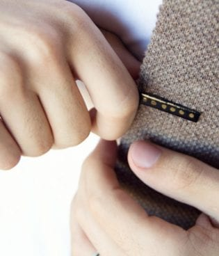 make and give // diy enamel tie clip thumbnail