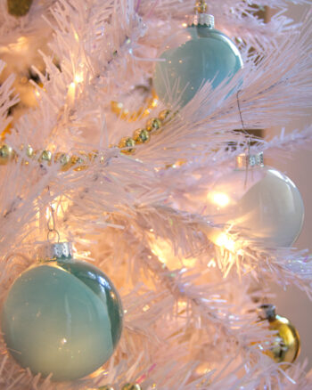 DIY Paint Swirl Ornaments
