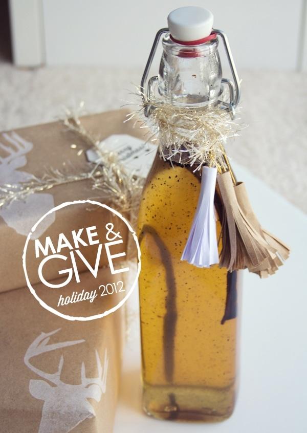 DIY Vanilla Bean Simple Syrup
