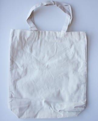 DIY Stenciled Tote Bag