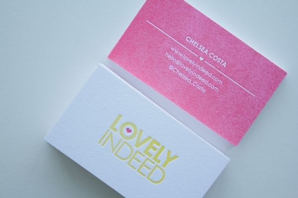 Lovely Indeed Business Cards