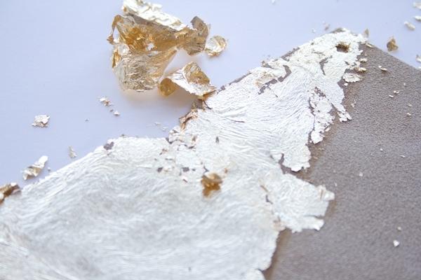 DIY Gold Leaf Business Card Case