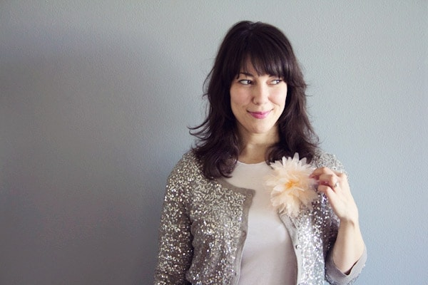 DIY Flower Pom Pin