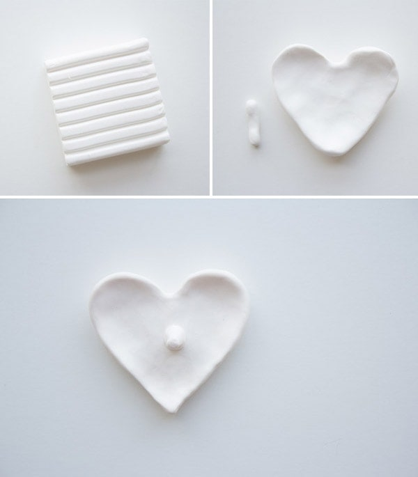 DIY Heart Ring Dish