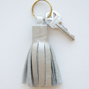 DIY Leather Tassel Keyring thumbnail