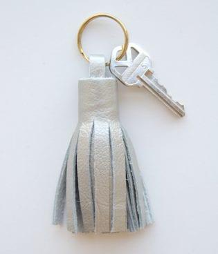 DIY Leather Tassel Keyring thumbnail