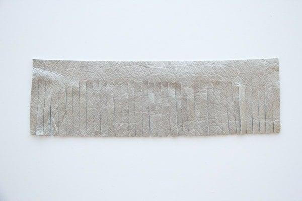 DIY Leather Tassel Keyring