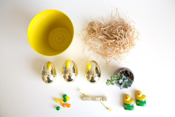 DIY Grownup Easter Basket