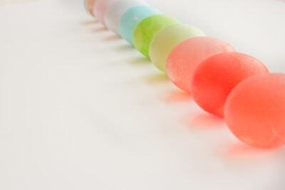 kool-aid dyed easter eggs