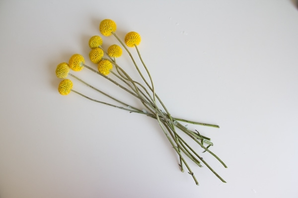 DIY Simple Monochromatic Bouquet